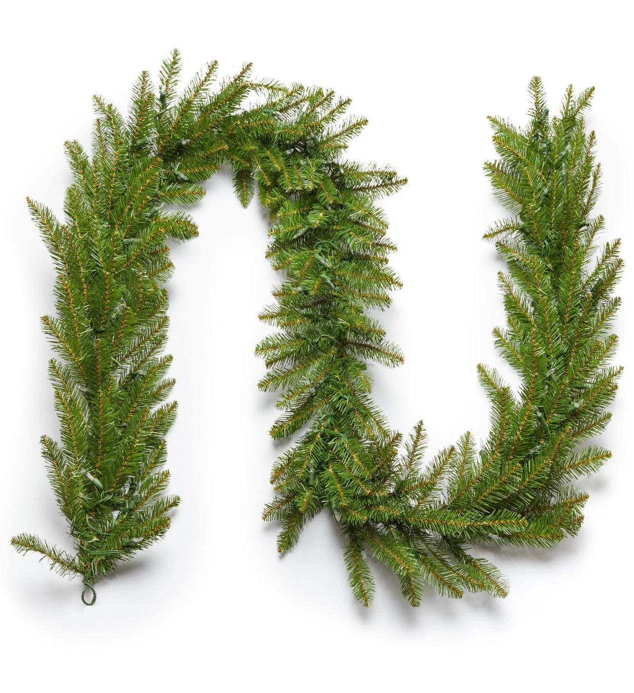 "9' x 12"" Yorkshire  Fir Garland Unlit"