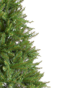 7.5' Yorkshire Fir Artificial Christmas Tree with 600 Warm White LED Lights