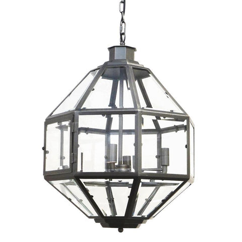 7749-827L4GY L780901 4 Light Chandelier In Gunmetal Gray (23Hx18D)