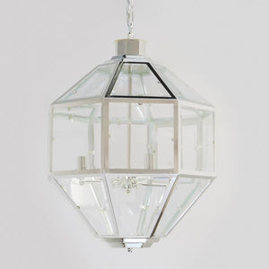 7749-827L4S L780902 4 Light Chandelier In Silver (23Hx18D)