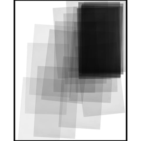 "8C502904 Framed in a Contemporary Black Frame #7601. This frame has a 2"" matching profile."