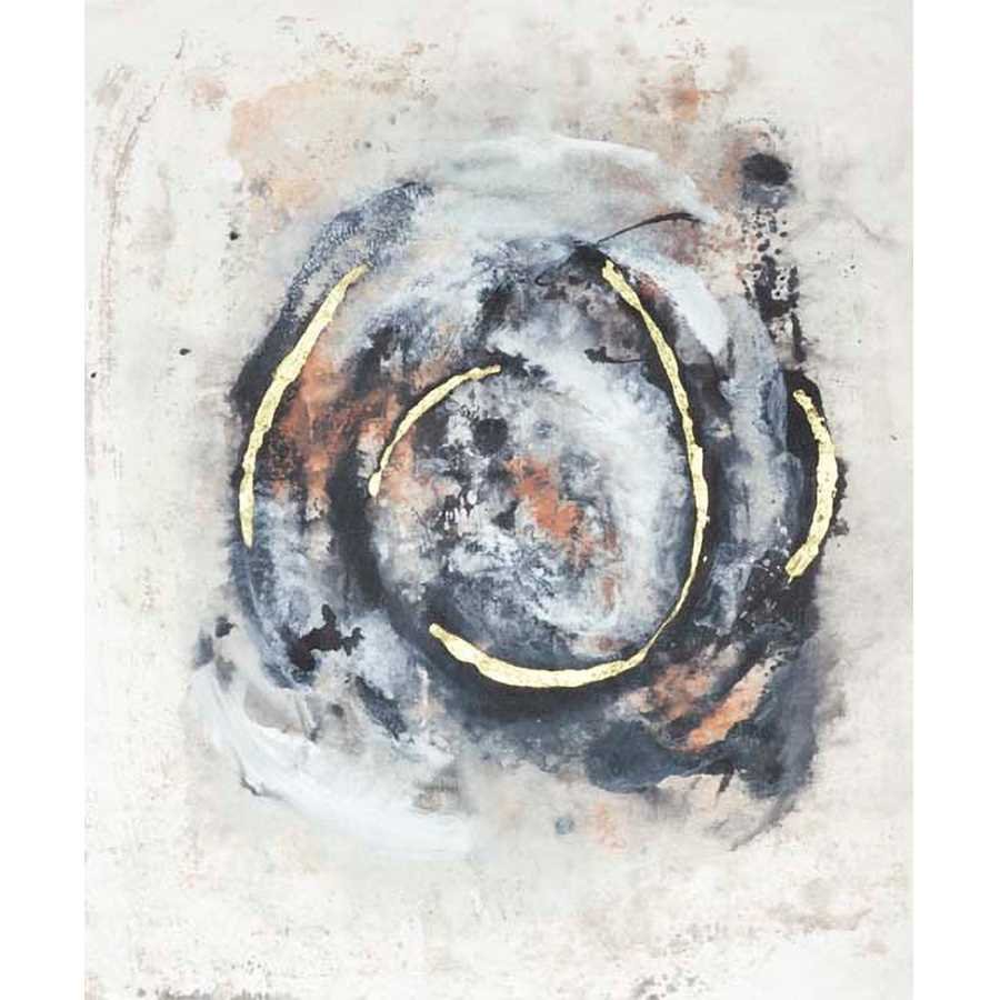 EMBELLISHED CIRCULAR ENERGY IV by Joyce Combs , Item#CG001408C, Matte Canvas, Art, Giclée on Canvas, Vertical, Medium