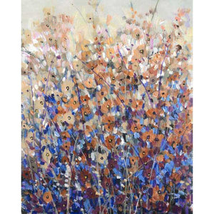 FALL WILDFLOWERS I by Tim O'Toole , Item#CG007706C, Matte Canvas, Art, Giclée on Canvas, Vertical, Medium
