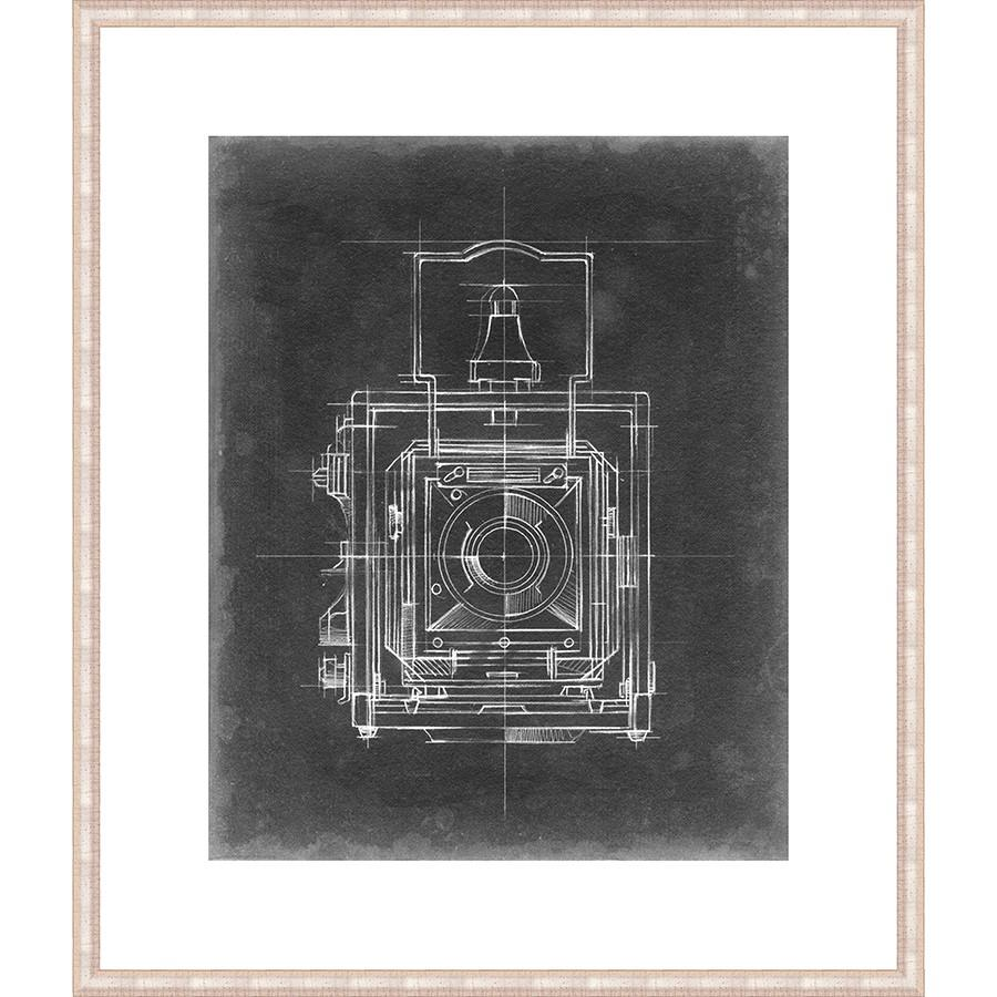 FG4022P01 Giclée on Matte Paper, under Glass, framed in Frame#6378 (Contemporary Antique Silver) Top Mat: 1136-W