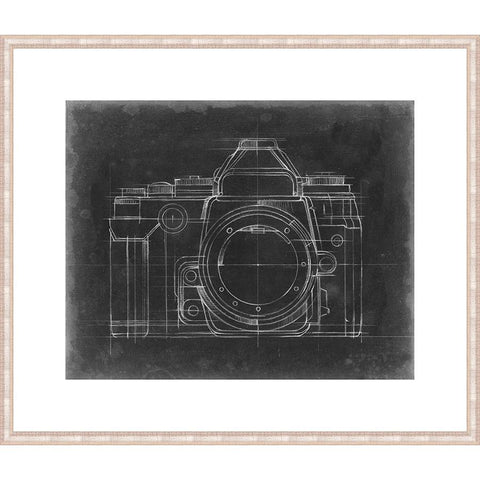P402203 Print on Paper, Under Glass, Framed in Frame#6378 (Contemporary Antique Silver) Top Mat: 1136-W