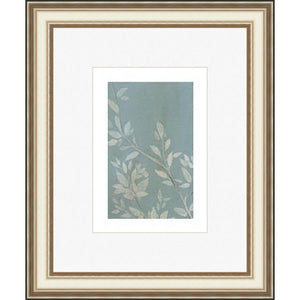 FG4045P05 Giclée on Matte Paper, under Glass, framed in Frame#305-45 (Contemporary Silver) Top Mat: Off-White