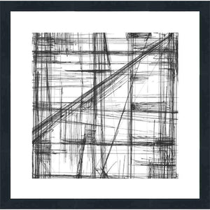 FG4068P01 Giclée on Matte Paper, under Glass, framed in Frame#8446 (Contemporary Black)