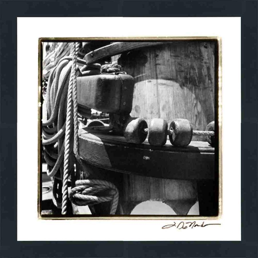 P412903 Print on Paper, Under Glass, Framed in Frame#8446 (Contemporary Black)