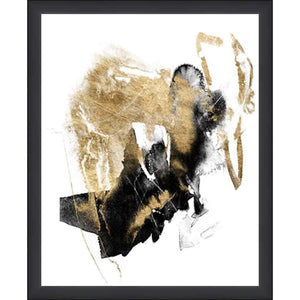 P423301 Print on Paper, Under Glass, Framed in Frame#7601 (Contemporary Black)