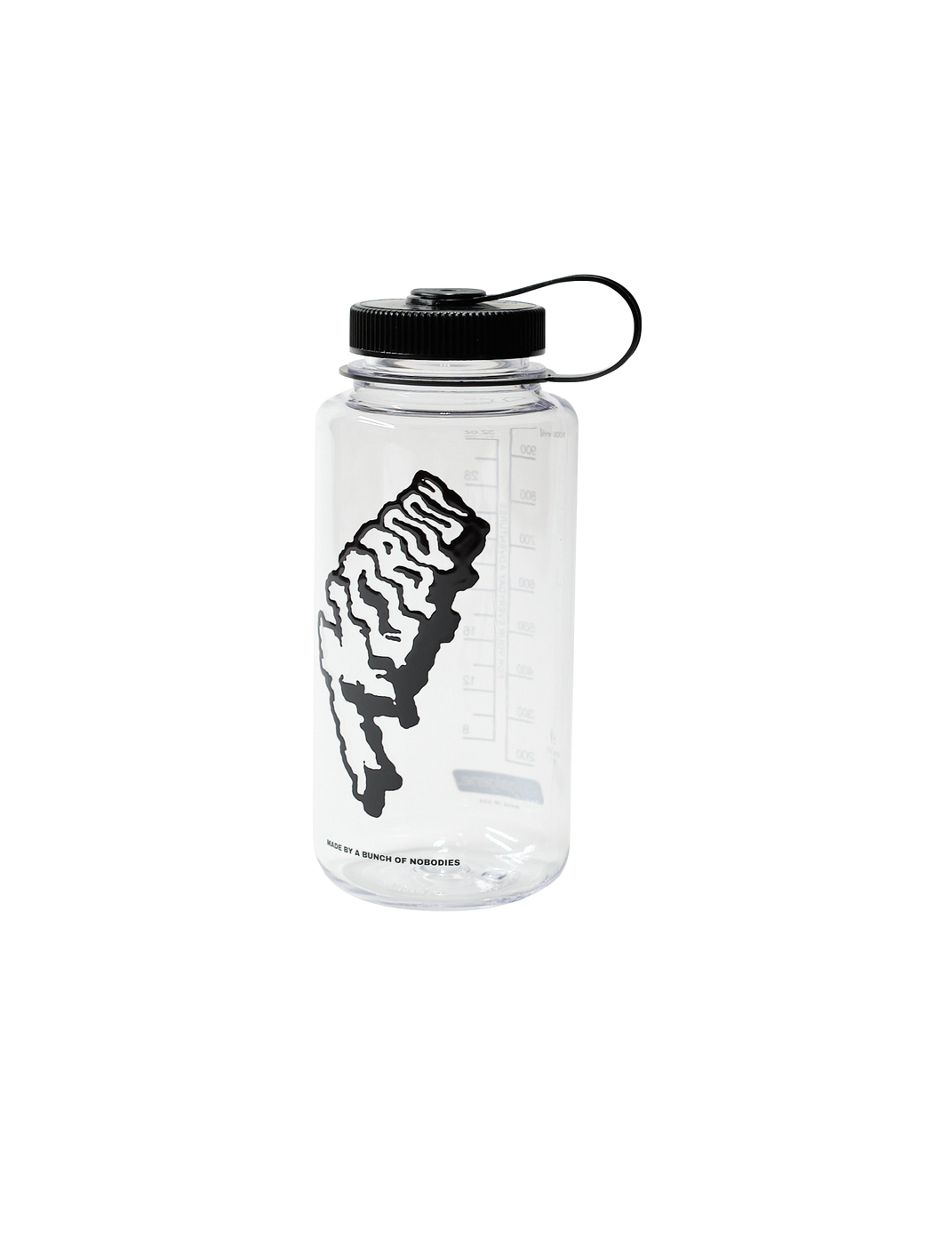 SBB LOGO WATER BOTTLE CLEAR