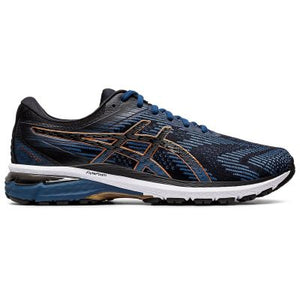 Asics Men's GT 2000 8 BLK/GREY/BLUE