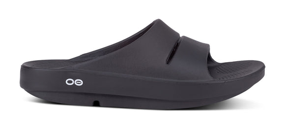 OOFOS Ooahh Slide BLACK