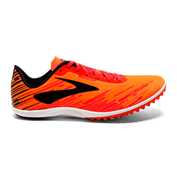 Brooks Men's Mach 18 ORG/PNK/BLK