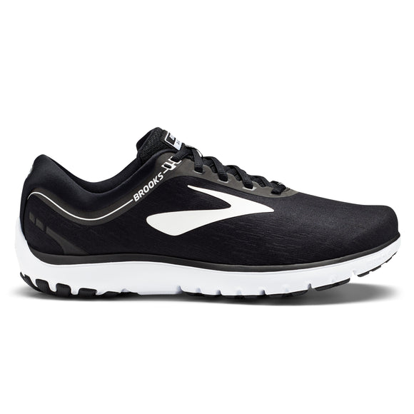 Brooks Men's Pure Flow 7 BLACK/WHITE