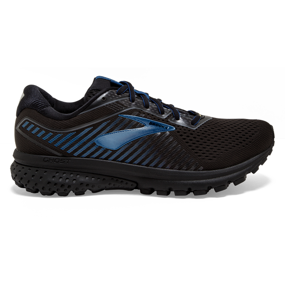 Brooks Sports, Inc Men Ghost 12 GTX Black/Blue