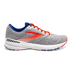 Brooks Men's Ravenna 11 GREY/CHERRY
