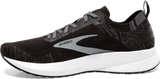 Brooks Men's Levitate 4 BLACK/BLACKENED PEARL/WHITE