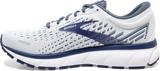 Brooks Men's Ghost 13 WHITE/BLUE