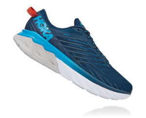 HOKA Men's Arahi 4 2E BLUE/BLUE