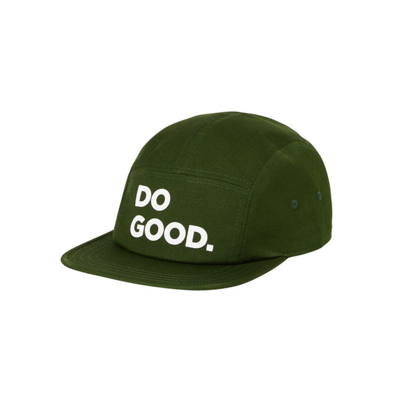 Cotopaxi Do Good 5 Panel Hat DARK FOREST