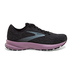 Brooks Sports, Inc Women Launch 7 BLACK/EBONY/VALERIAN