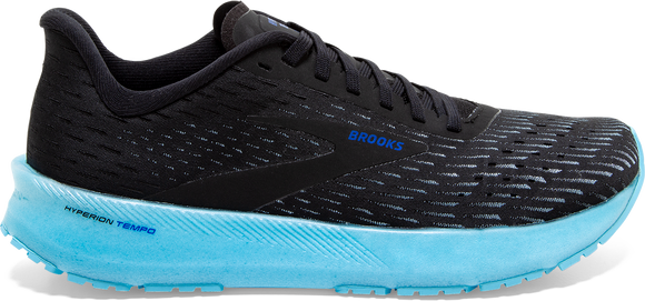 Brooks Men's Hyperion Tempo BLACK/ICED AQUA