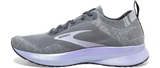 Brooks Women's Levitate 4 GREY/BLACKENED PEARL/PURPLE