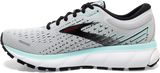 Brooks Women's Ghost 13 GREY/FAIR AQUA
