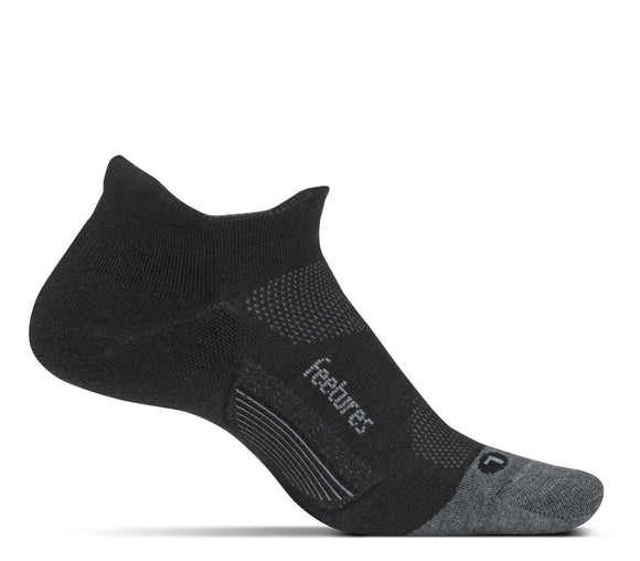 Feetures Elite Merino ULT Tab CHARCOAL