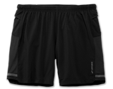 "Brooks Sports, Inc Sherpa 7"" 2 in 1 Men BLACK"