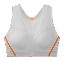 Brooks Dare High Neck Bra ASH/MELON
