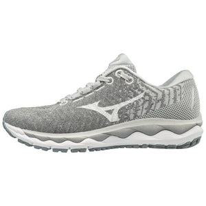 Mizuno Women's Sky WaveKnit 3 GRAY/WHITE