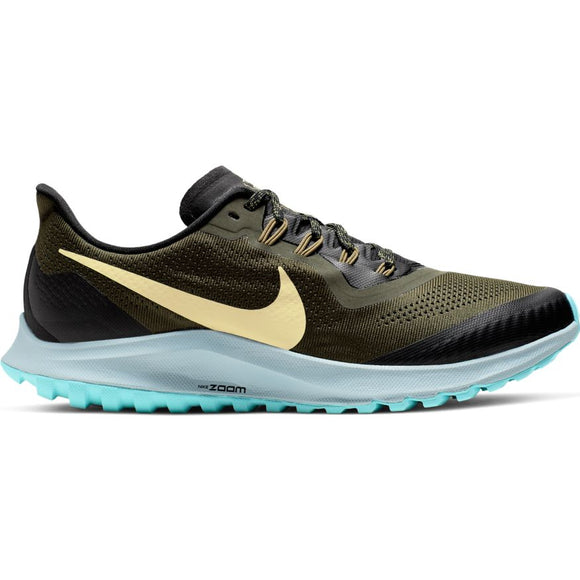 Nike Inc. Men Pegasus 36 Trail KHAKI/GOLD