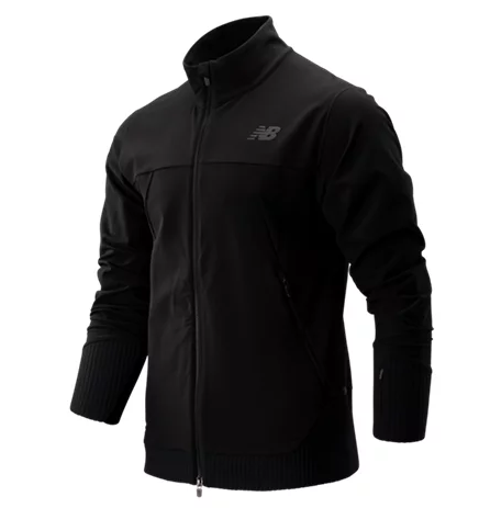 New Balance Men's Q Speed Jkt BLACK