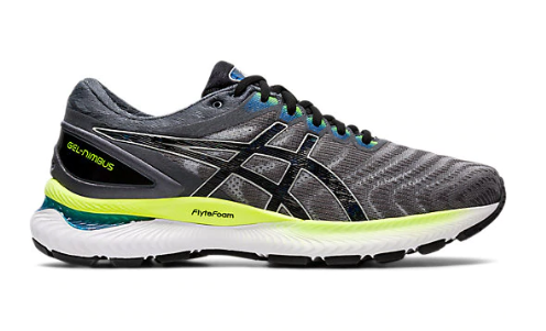 Asics Men's GEL NIMBUS 22 Grey/Black