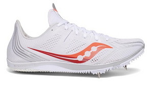 Saucony Women Endorphin 3 WHT/RED
