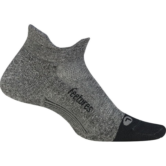 Feetures Elite LT No Show Tab GRAY