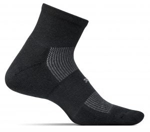 Feetures Ultralight Quarter BLACK