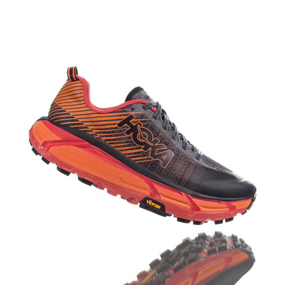 HOKA Men EVO Mafate 2 BLACK/RED
