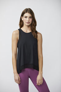 Define Your Inspiration Women's Mesh Tank BLACK