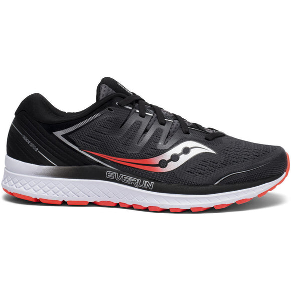Saucony Men Guide ISO 2 BLK/GRY 2E
