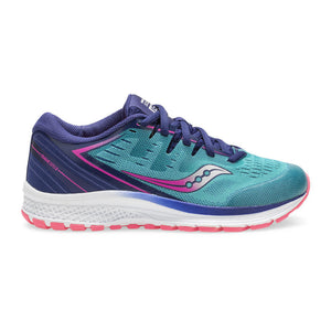 Saucony Girls Guide ISO 2 TEAL/PINK