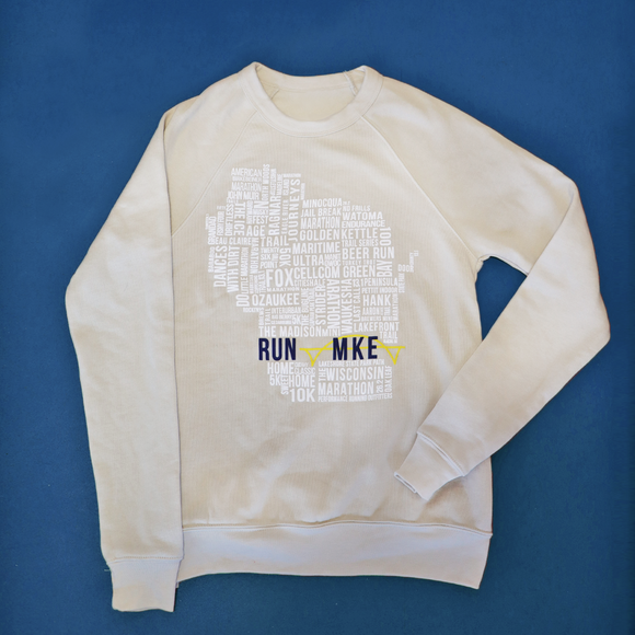 PRO Wisconsin TYPE SWEATSHIRT HEATHER DUST