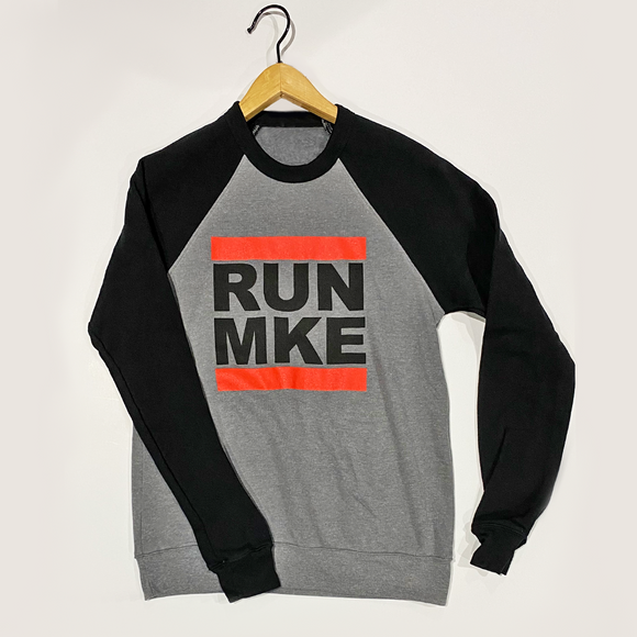 RUN MKE CREW SWEATSHIRT