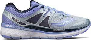 Saucony Women's Triumph ISO 3 GRY/PURP