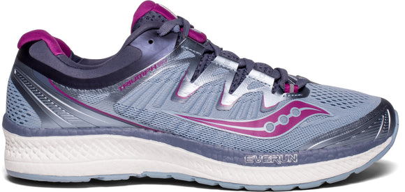 Saucony Women's Triumph ISO 4 GRY/PURP