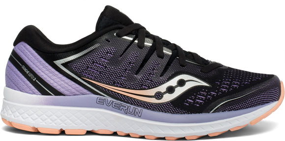 Saucony Women's Guide ISO 2 BLK/PRUP