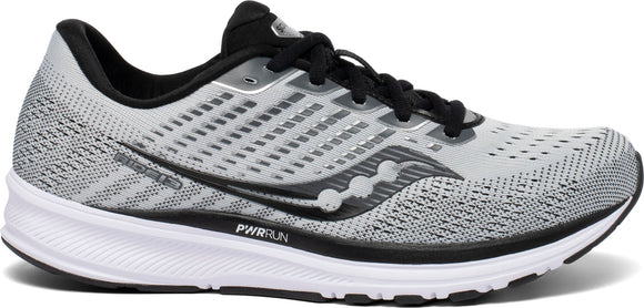 Saucony Men's Ride 13 ALLOY/BLACK