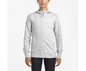 Saucony Cooldown Hoodie Women GREY