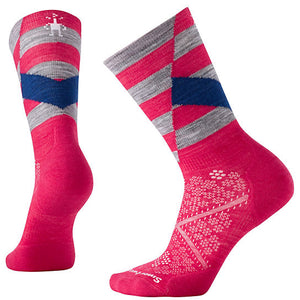 SmartWool Light Elite Crew Women's PINK